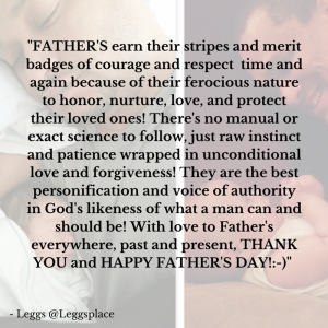 FATHER'S earn their stripes and merit (2)