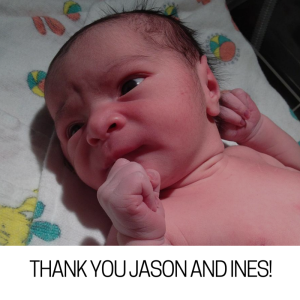 THANK YOU JASON AND INES! From the(2)